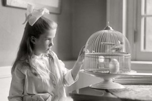 Child with Birdcage