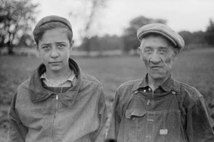 Father and Son 1913