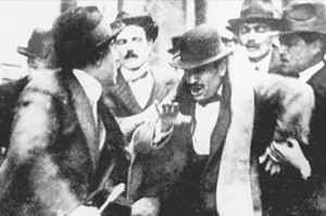 Mussolini Arrested